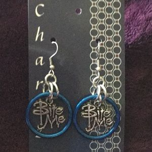 """Jewelry - Chainmaille """"Bite Me"""" Earrings"""